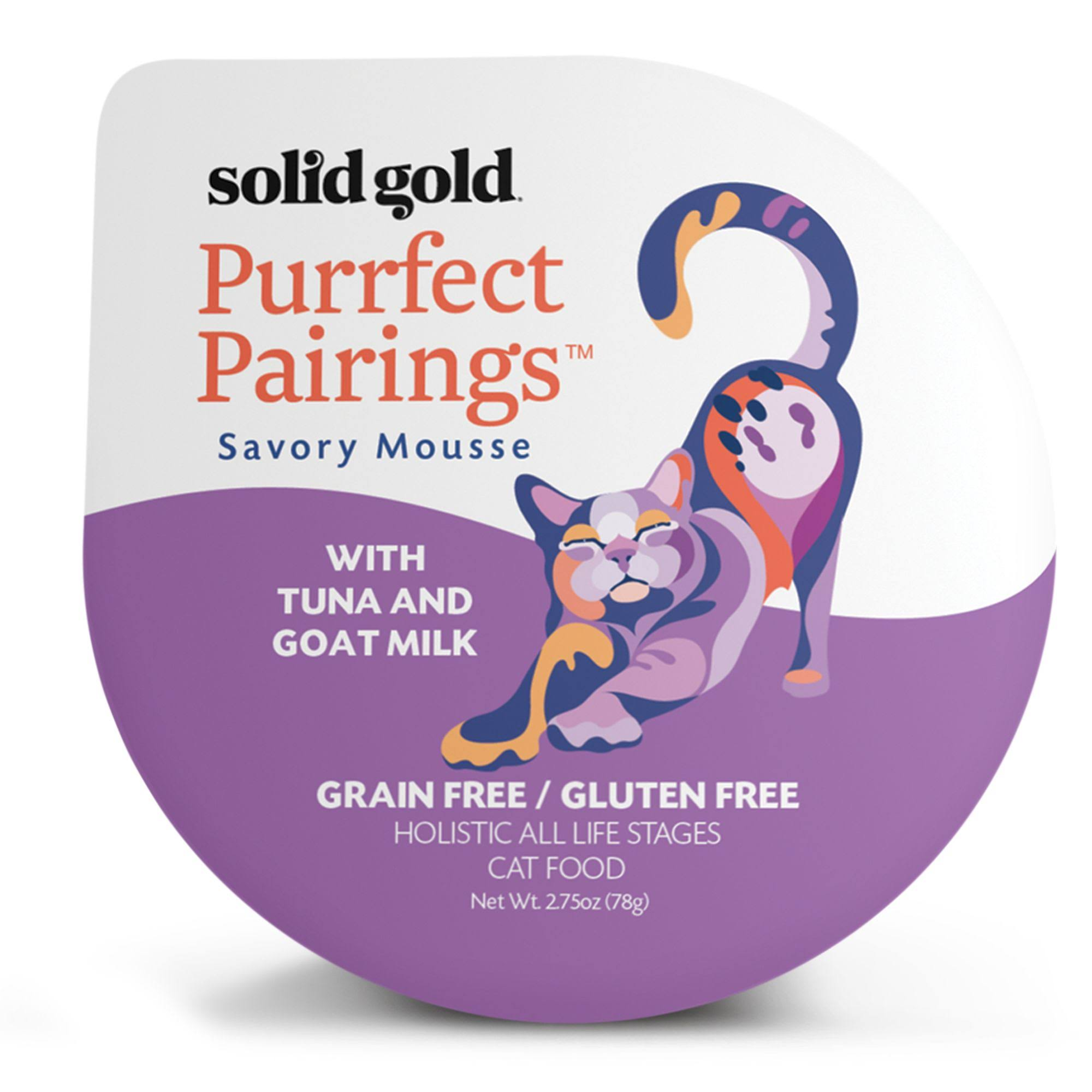 Solid Gold Purrfect Pair Cat Food - Tuna and Goat Milk