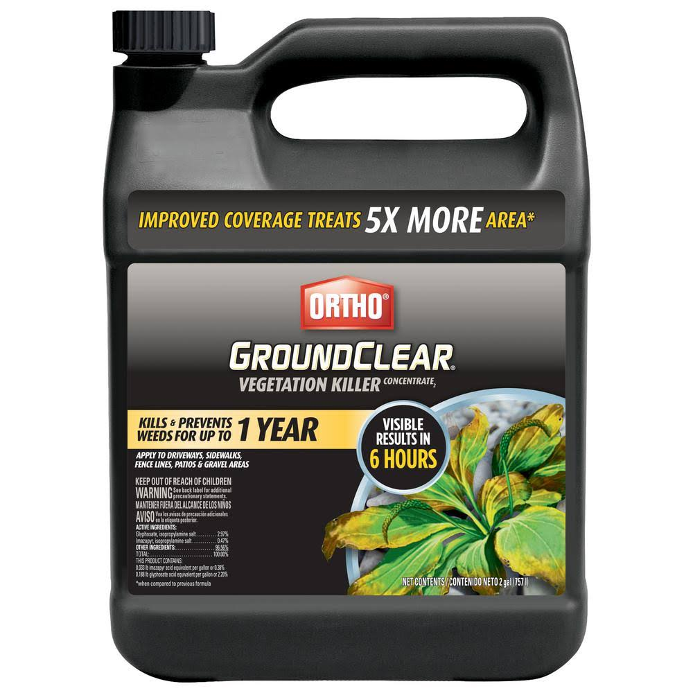 Scotts Ortho Roundup 0431702 GroundClear Vegetation Killer - 2gal