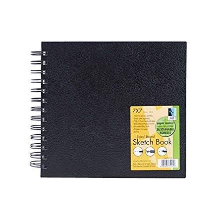 Art Alternatives Wirebound Sketch Book - Black