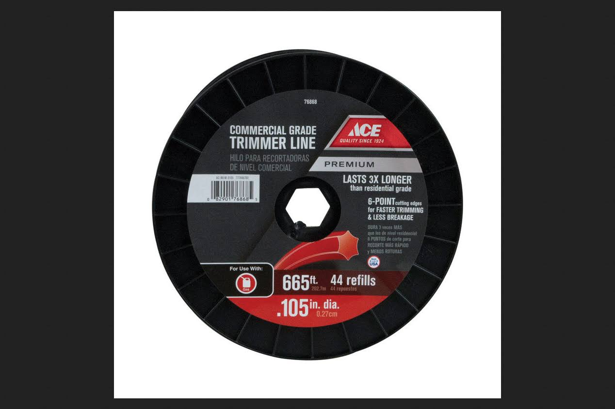 Ace Commercial Trimmer Line - 0.105in x 665ft