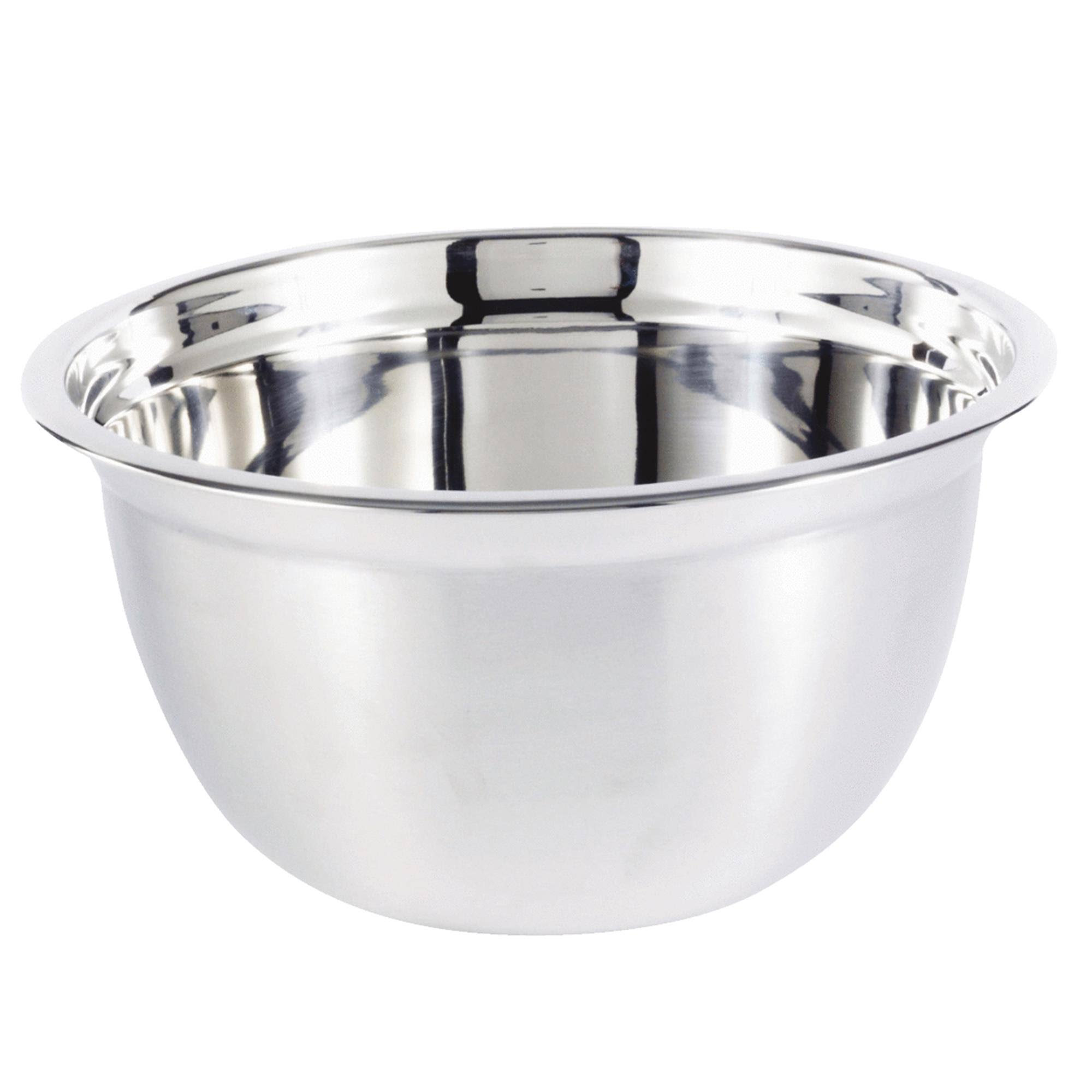 Heuck Euro Mixing Bowl - Stainless Steel, 8qt