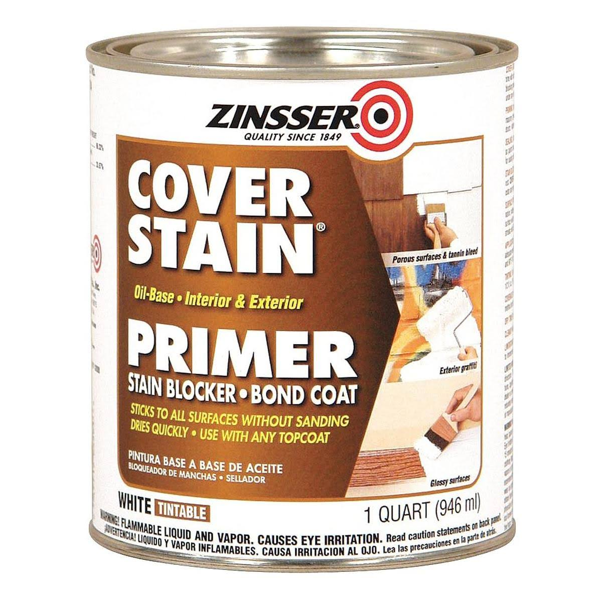 Zinsser Cover Stain Oil Base Primer - White