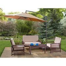 Walmart Patio Umbrella Table by Patio Inspiring Patio Set With Umbrella Outdoor Umbrellas Amazon