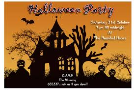 Halloween Potluck Invitation Template Free Printable by Invitation Letters For A Halloween Party U2013 Fun For Halloween