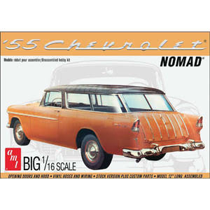 Amt Amt1005 1955 Chevy Nomad Wagon - 1/16 Scale