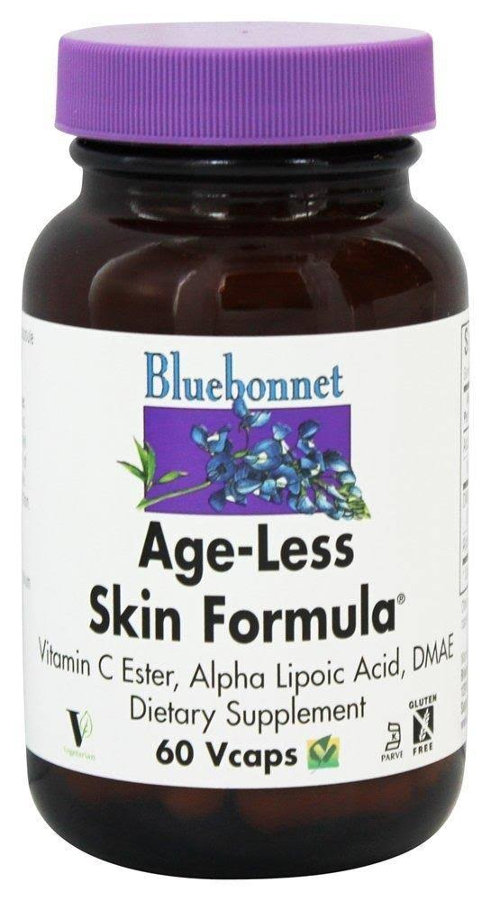 Bluebonnet Skin Formula, Age-Less, Vegetable Capsules - 60 capsules