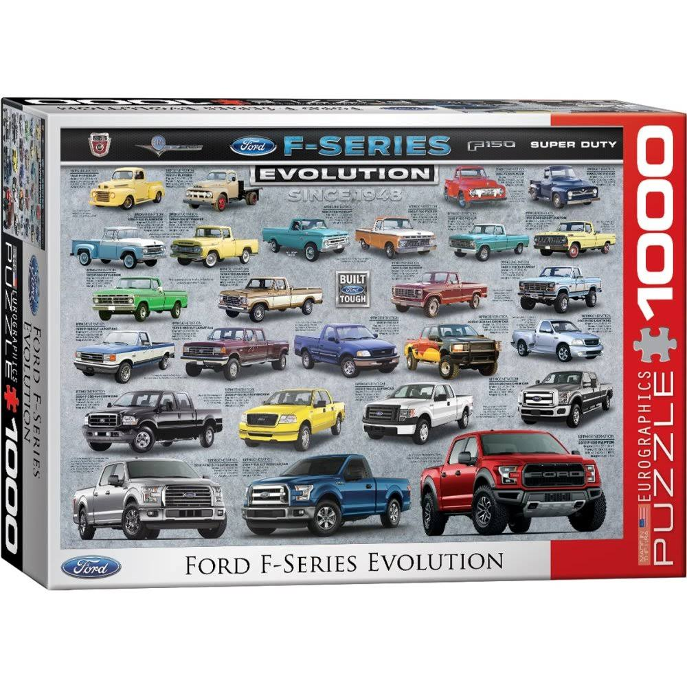 Eurographics Ford F-series Evolution Jigsaw Puzzle - 1000pcs