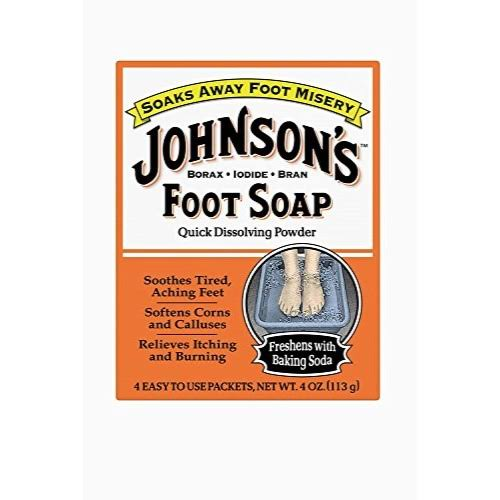 Johnson and Johnson Foot Soap Powder - 8ct