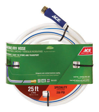 "Ace Heavy Duty Boat and Camper Hose - 1/2"" x 25'"
