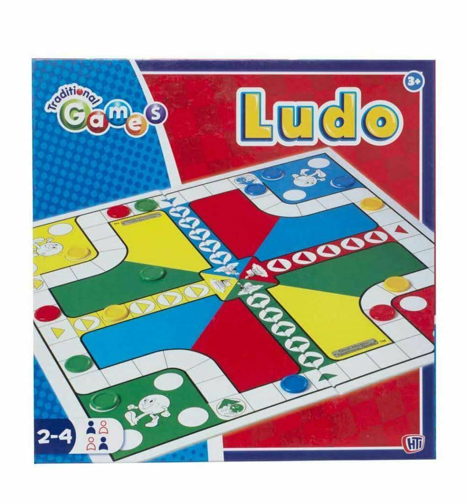 Traditional Games Ludo Board Game