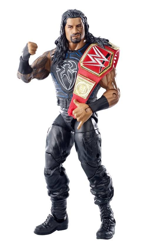 Mattel WWE Elite Toy Wrestling Roman Reigns Action Figure - 7""