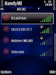 HandyWi v2.0.8 لاستقبال WLAN WiFi