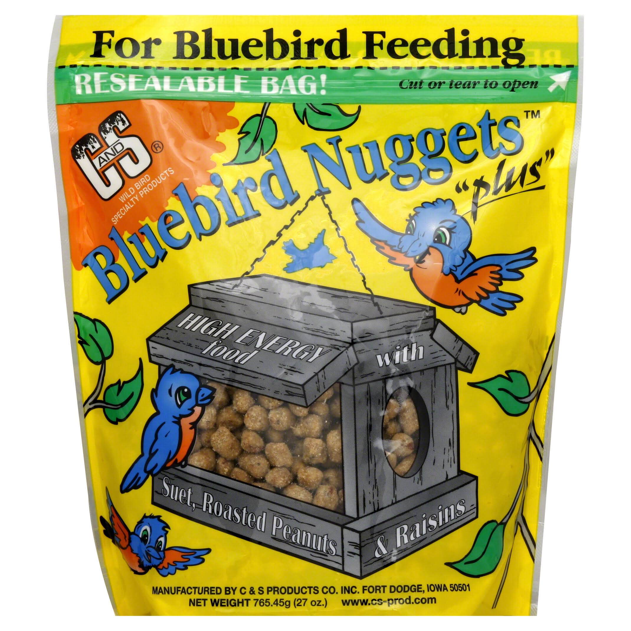 C and S Products Bluebird Suet Nuggets - 27oz