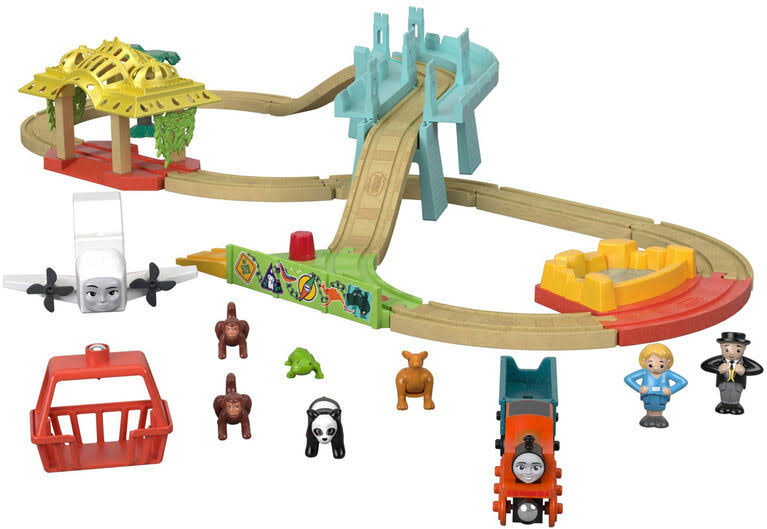 Thomas & Friends Wooden Railway Big World Adventure Set