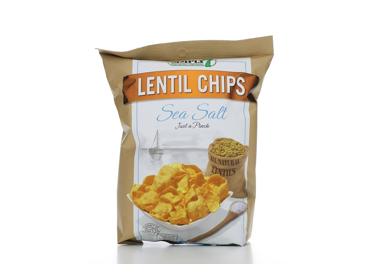 Simply 7 Lentil Chips - Sea Salt