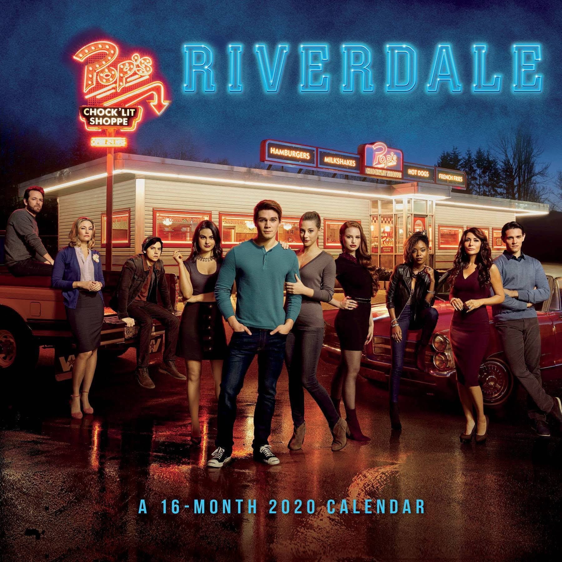 Trends International Riverdale 2020 Wall Calendar