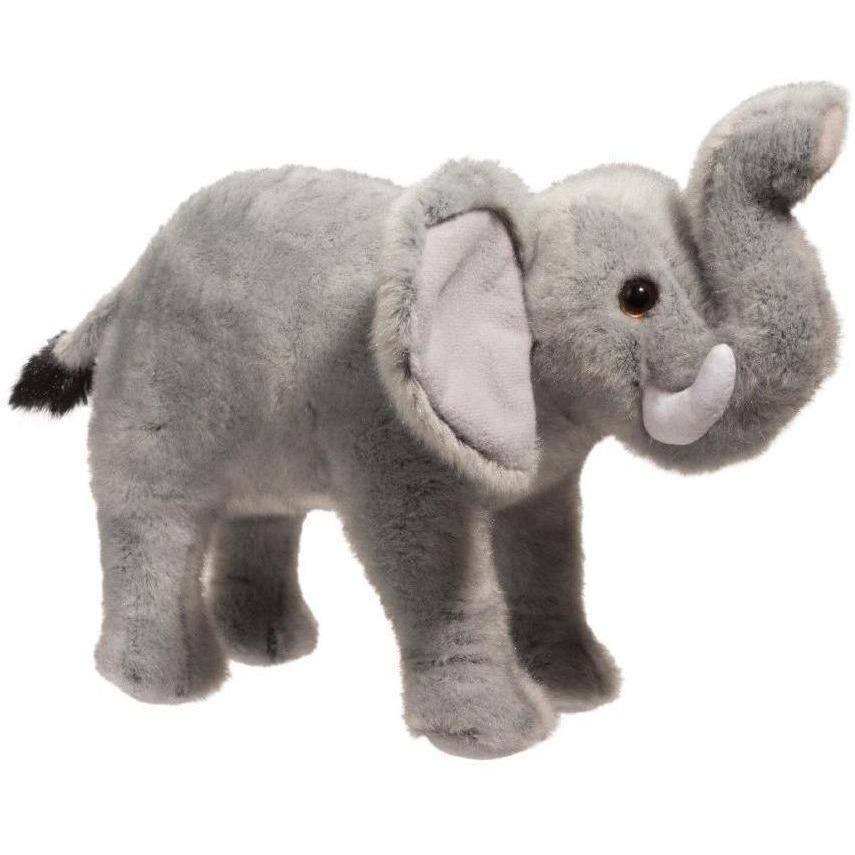 Douglas Cuddle Stuffed Animal Toy - Maude Elephant, 9""