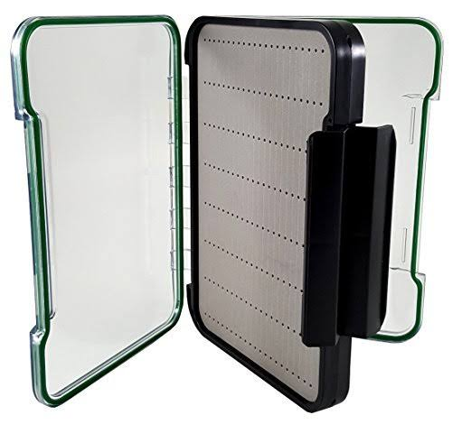 "Kingfisher Magnum Polycarbonate Fly Box - 8.75"" x 6.5"" x 2"""