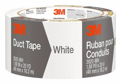 3M White Duct Tape