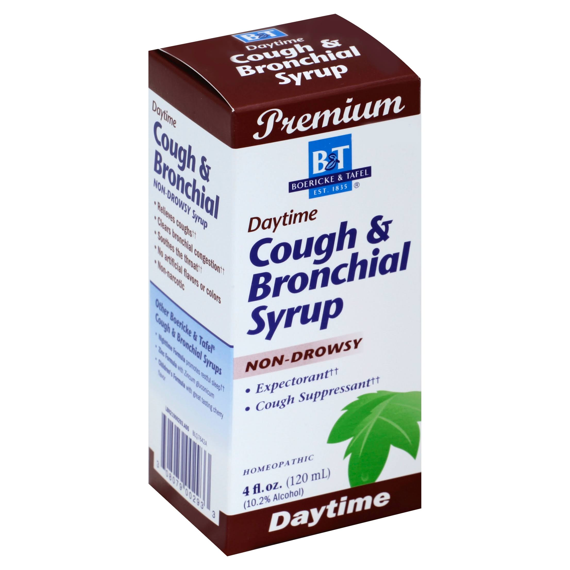 Boericke and Tafel Cough and Bronchial Syrup