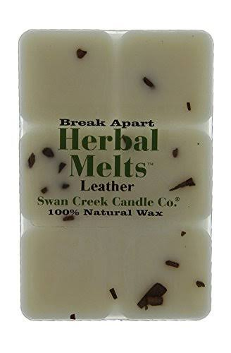 Swan Creek Candle - Leather Drizzle Melts