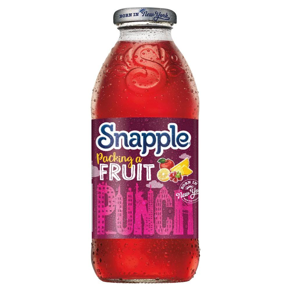 Snapple Fruit Drink - Fruit Punch, 473ml