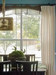 Pink Ruffle Curtain Topper by Window Treatment Ideas Hgtv