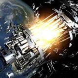 A dead Soviet satellite and a discarded Chinese rocket body could collide in space Thursday night, exploding into ...