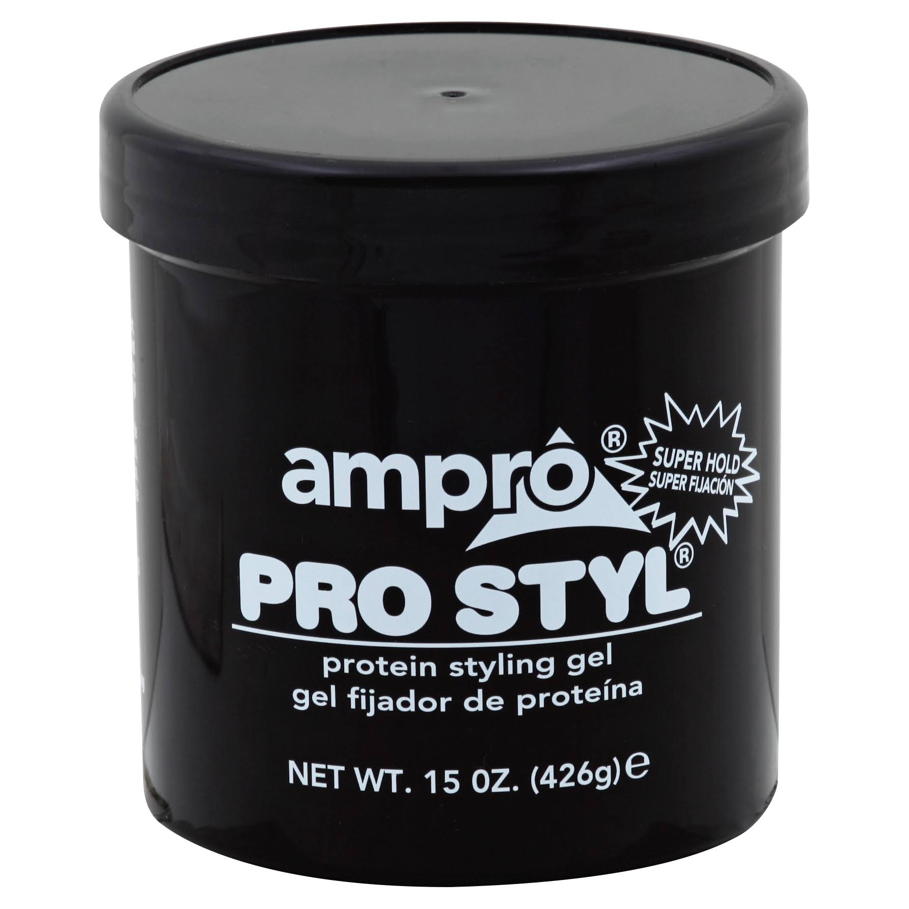 Ampro Pro Styl Super Hold Protein Styling Gel - 15oz