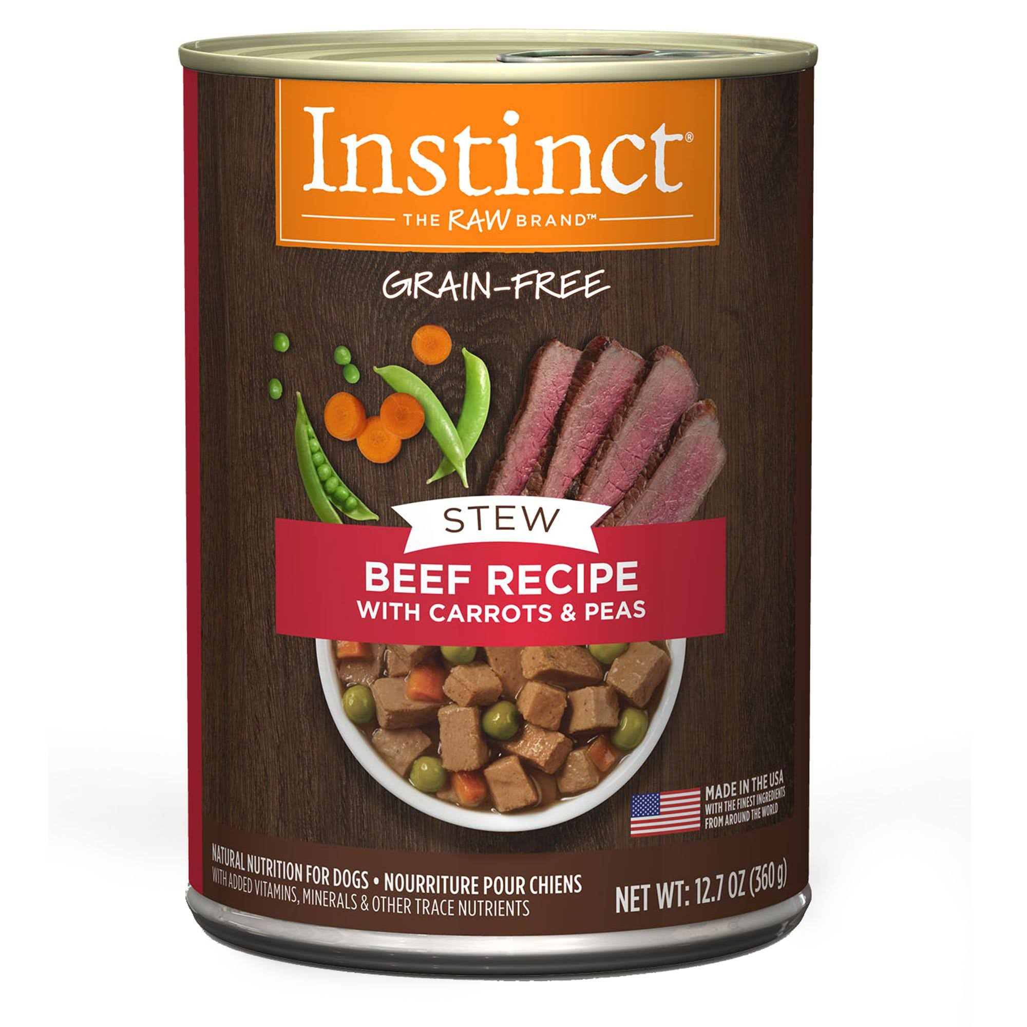 Instinct Stew Dog Food - Beef, 12.7oz