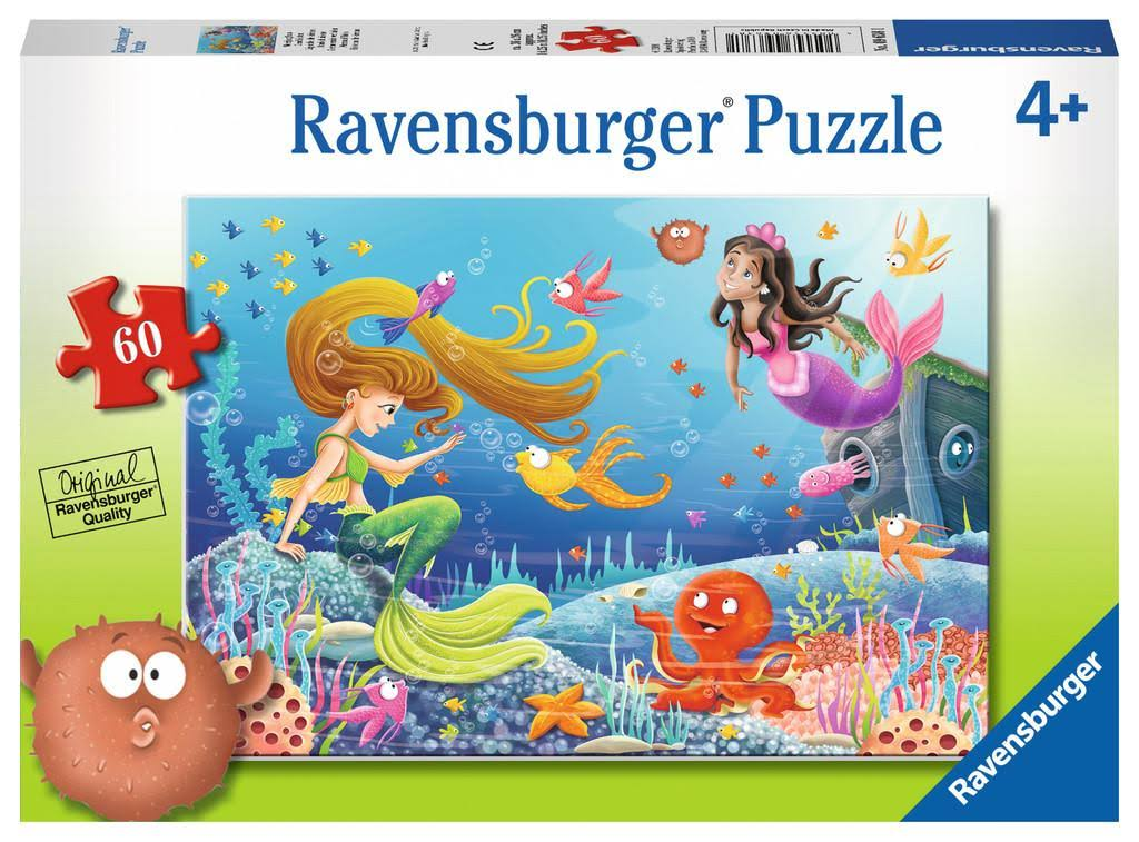Ravensburger Mermaid Tales Jigsaw Puzzles - 60pcs