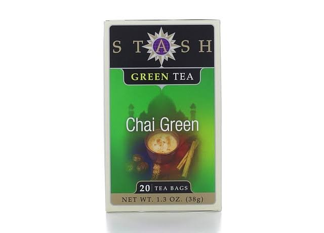Stash Chai Green Tea Bags - 1.3oz, x20