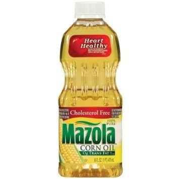 Mazola 100 Percent Pure Corn Oil - 16oz
