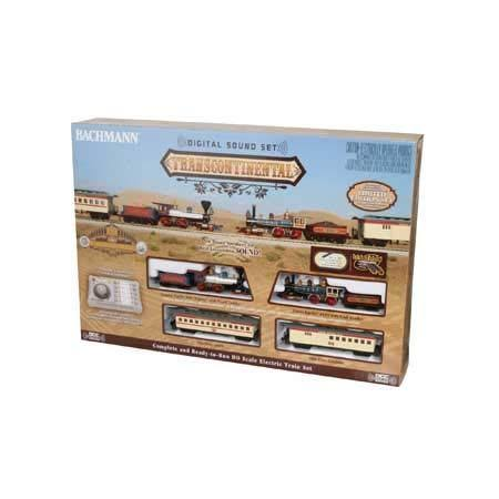 Bachmann BAC827 HO Scale Transcontinental Train Set with Sound & DCC