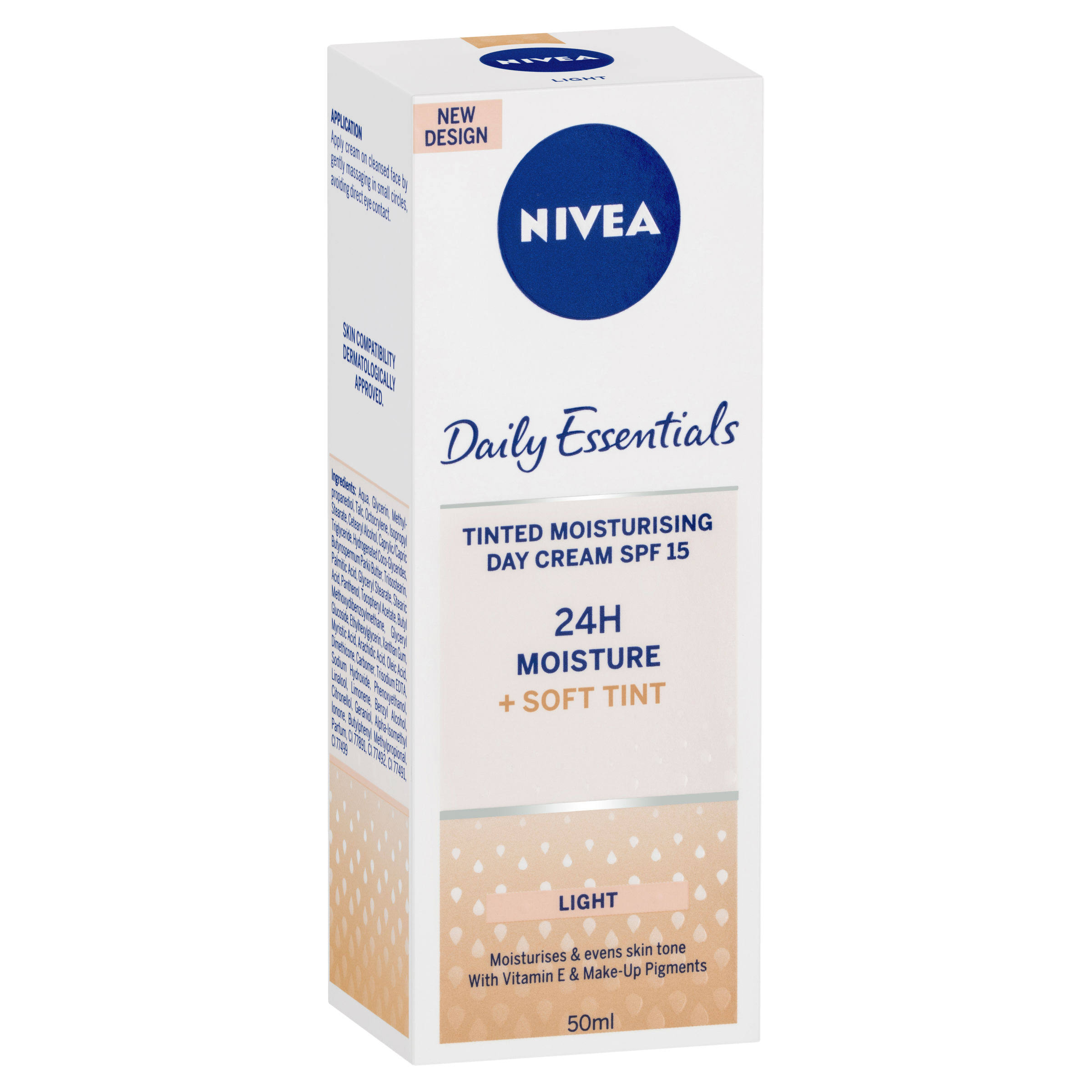 Nivea Daily Essentials Tinted Moisturising Day Cream - 50ml