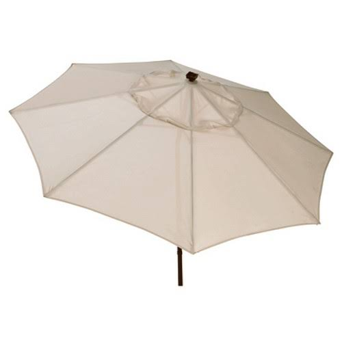 March Products Four Seasons Led Umbrella - 9', Beige