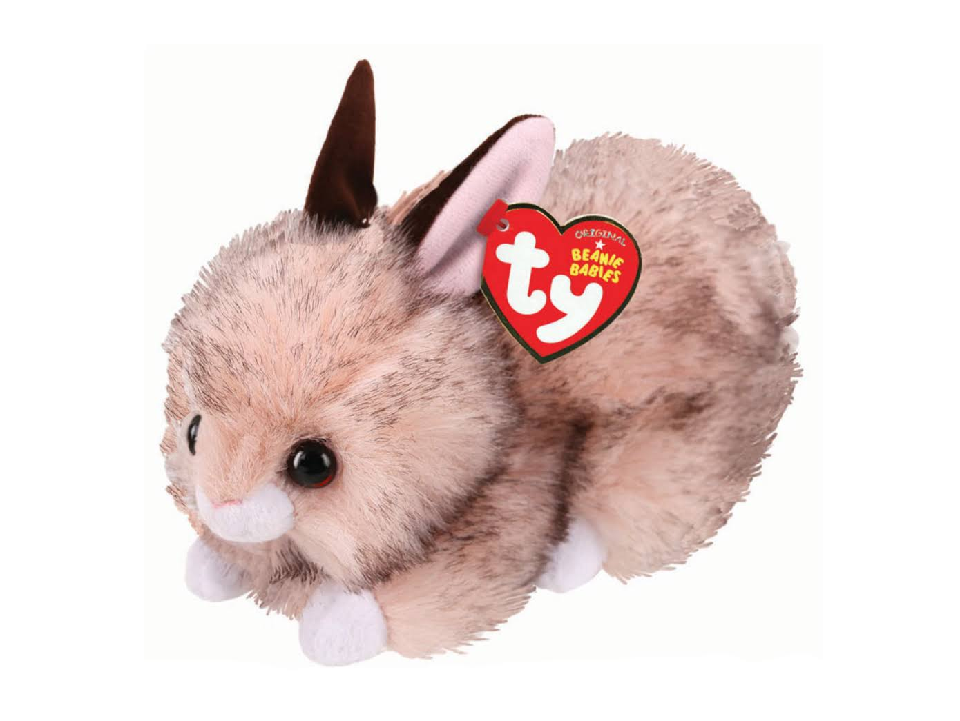 "Ty Beanie Babies Buster Brown Easter Bunny 6"" Plush"