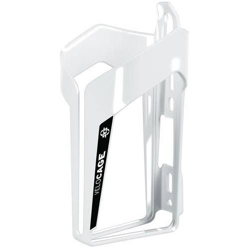 SKS VeloCage Bicycle Water Bottle Cage - Glossy White/Black
