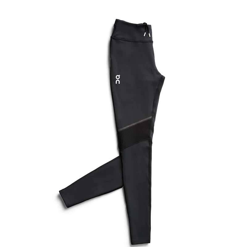 ON Women's Long Running Tights - Slim, Black, Small