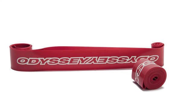 "Odyssey High Pressure Rim Strips - Red, 20"" x 30mm"