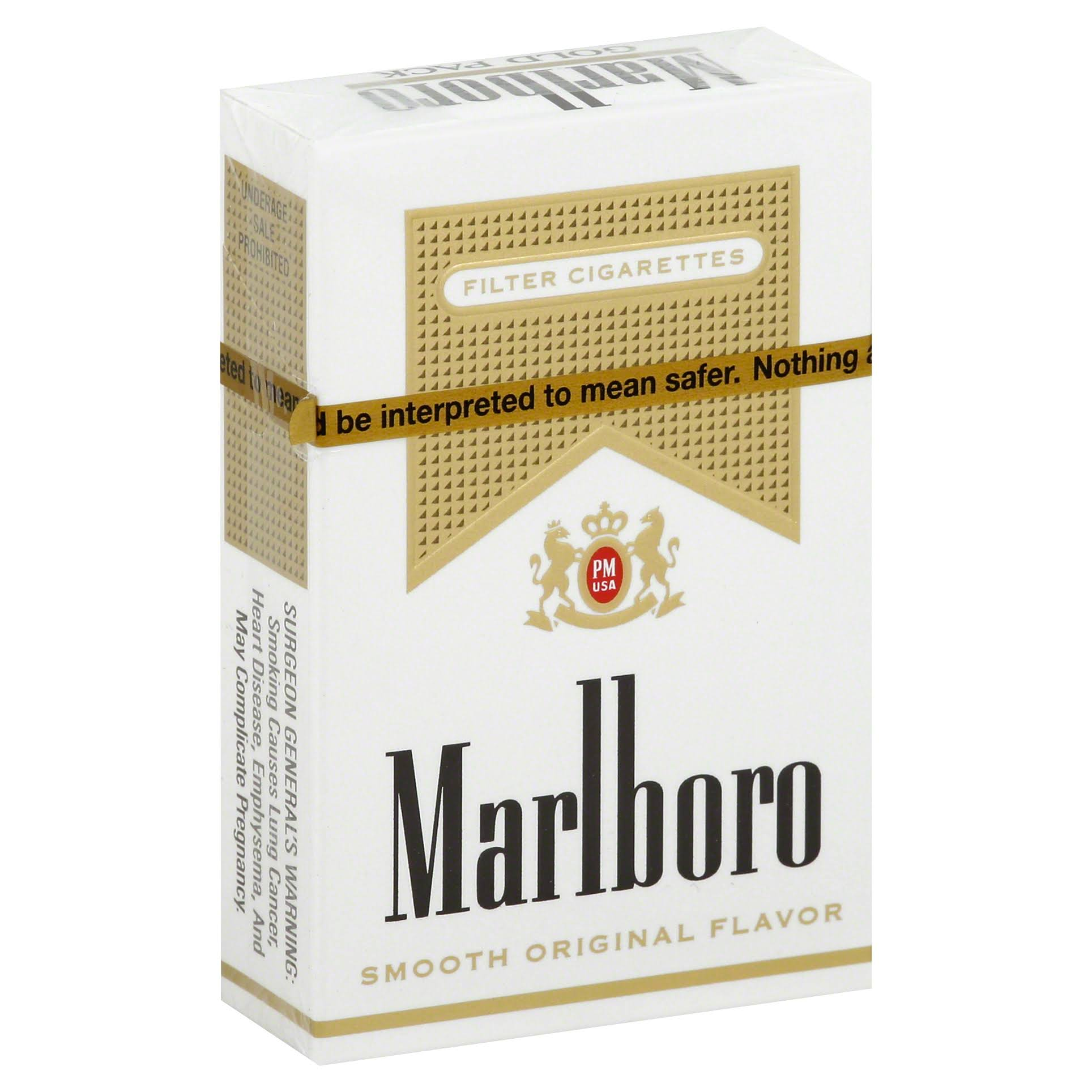 Marlboro Cigarettes, Filter, Gold Pack - 20 cigarettes