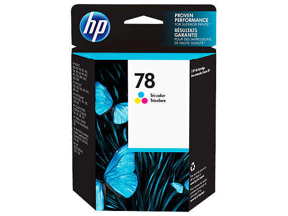 HP 78 Ink Cartridge - Tri-color