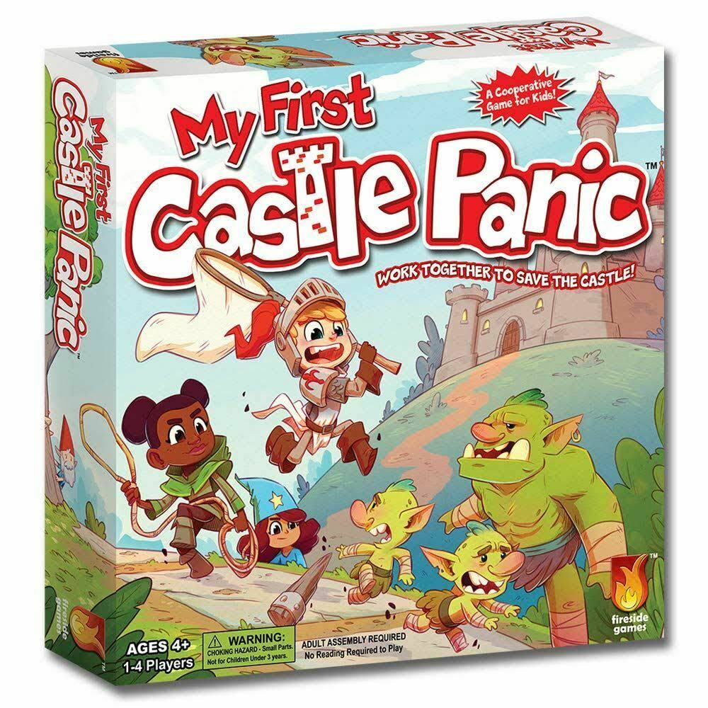 Fireside Games My First Castle Panic Board Game - For Ages 4+