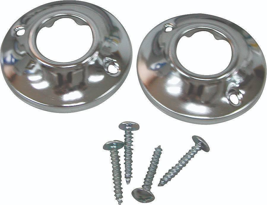 Mintcraft Shower Rod Flange - Chrome