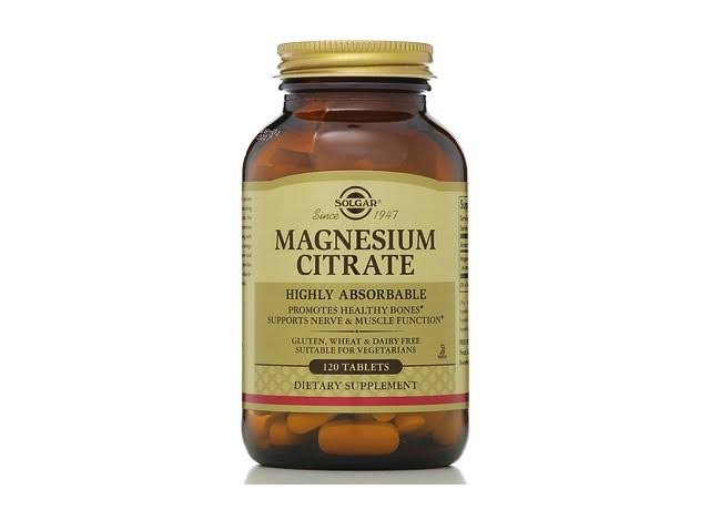 Solgar Magnesium Citrate - 120 Tablets