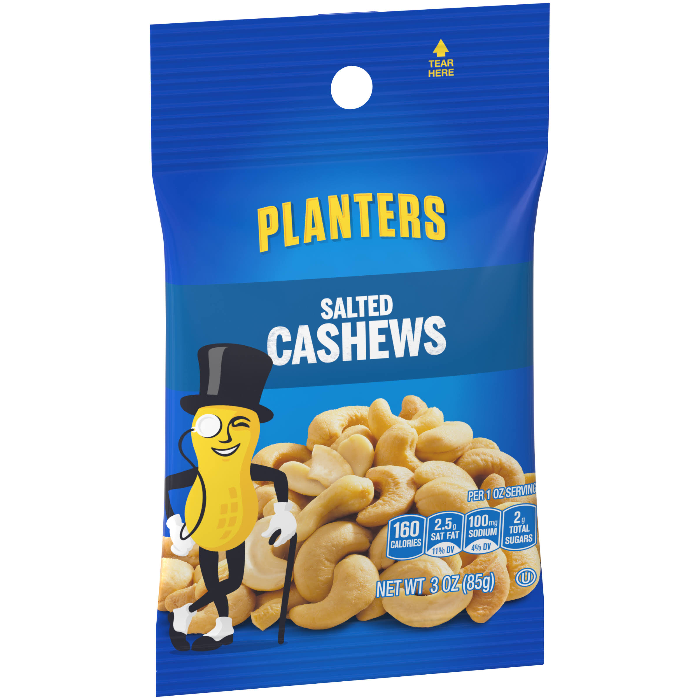 Planters Salted Cashews - 3oz