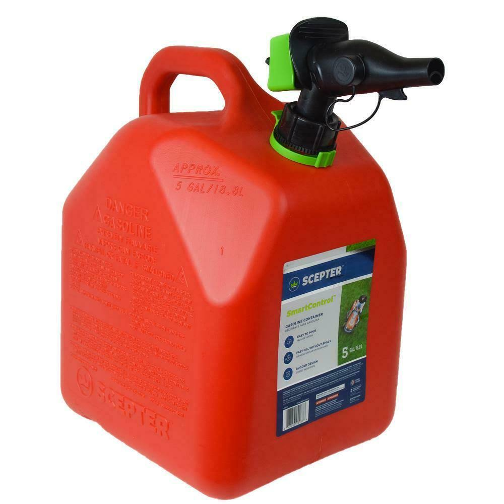 Scepter Smart Control Gas Can - Red, 5gal