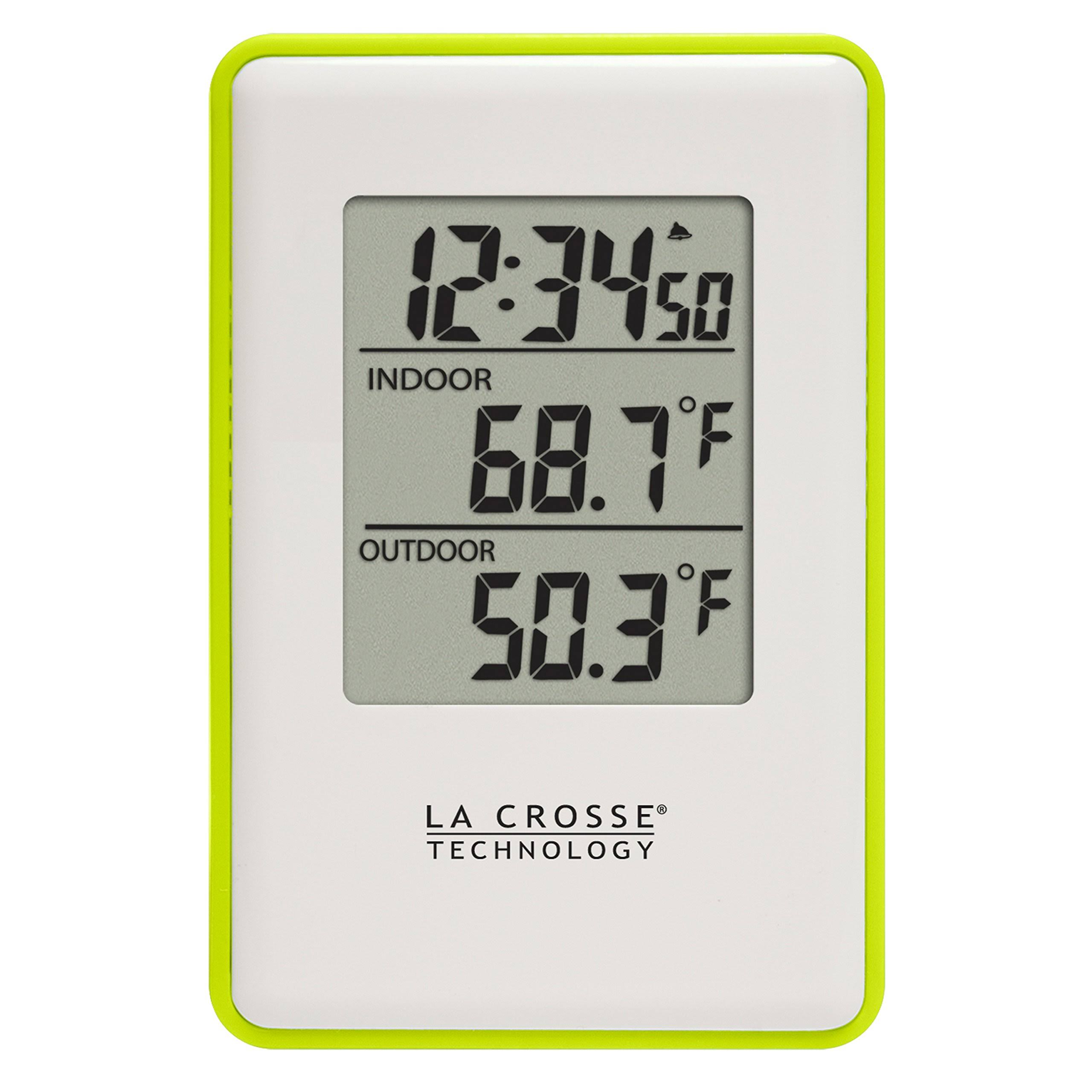 La Crosse Technology Green Wireless Thermometer Weather Station