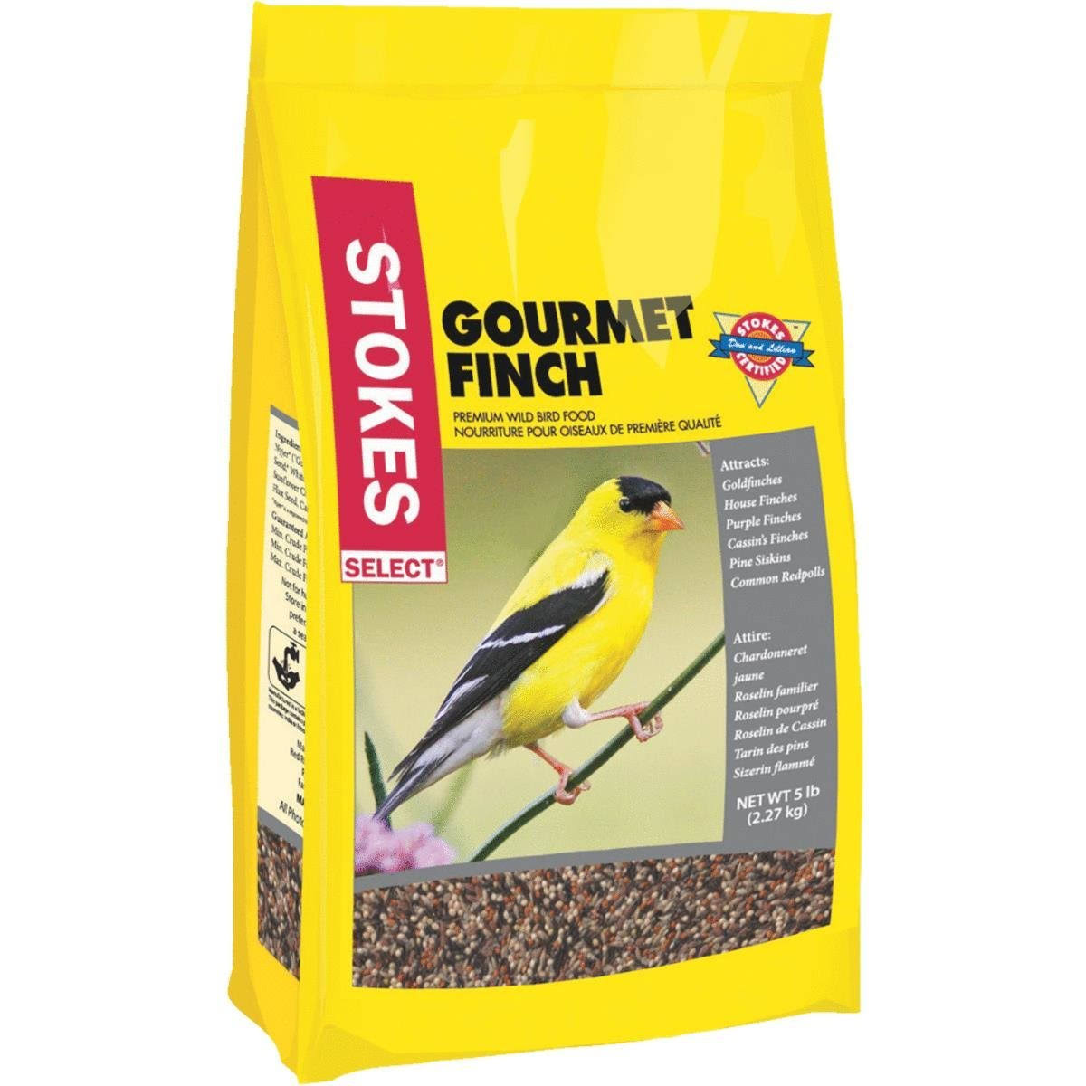 Red River Commodities Gourmet Finch Wild Bird Seed - 5lbs