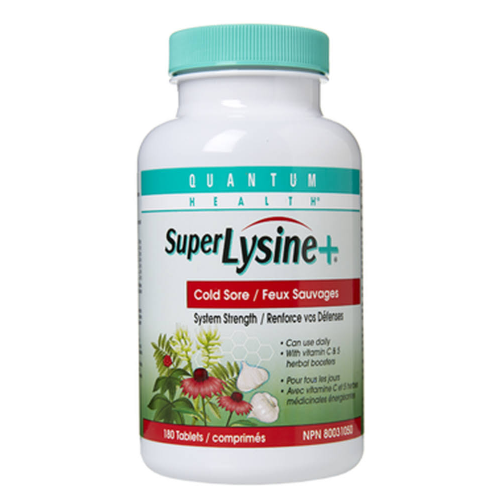 Quantum Super Lysine Plus Dietary Supplement - 90ct